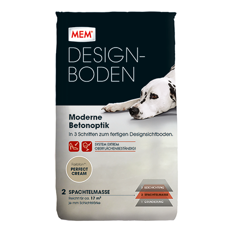 designboden spachtelmasse perfect cream