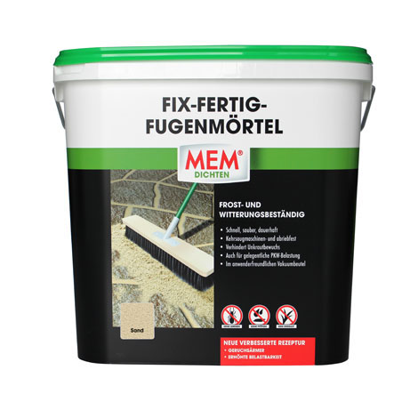 Fabulous Fix-Fertig-Fugenmörtel   Verfugung von Pflastersteinen   MEM OY19